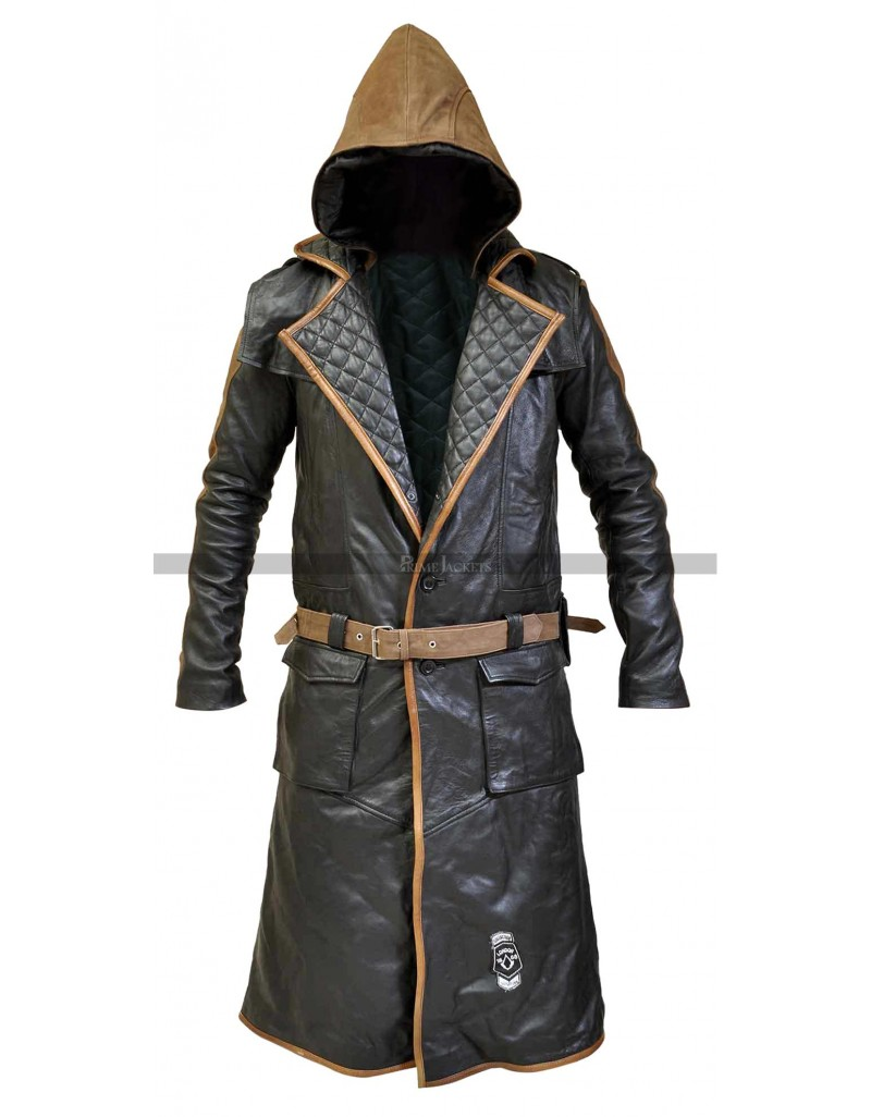 Assassins Creed Syndicate Jacob Frye S Real Leather Coat
