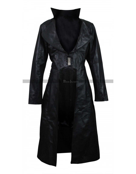 Bloodrayne Natassia Malthe Black Coat