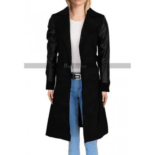 Doctor Who Jeena Coleman Double Breasted Coat