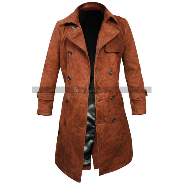 Chloe Decker Lucifer Lauren German Brown Coat