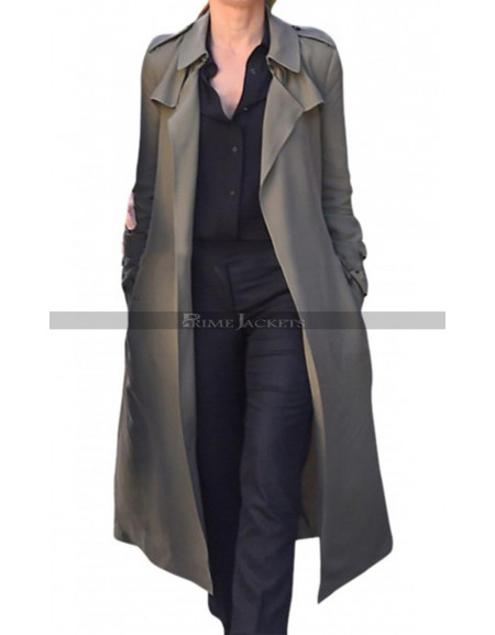 Debbie Ocean Oceans Eight Trench Coat