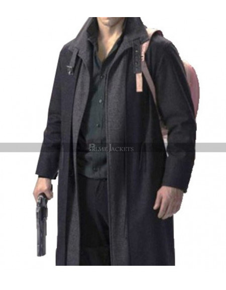 Altered Carbon Takeshi Kovacs Black Coat