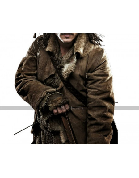 The Hobbit Luke Evans Bard The Bowman Costume Coat