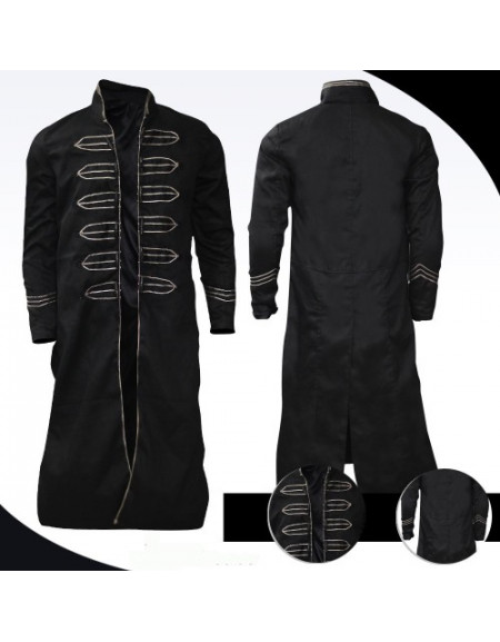 Richard Roxburgh Van Helsing Dracula Black Coat Costume