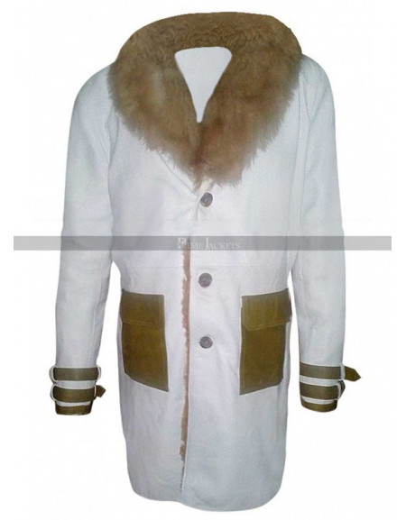 XXX 3 The Return of Xander Cage Premier Vin Diesel White Fur Coat