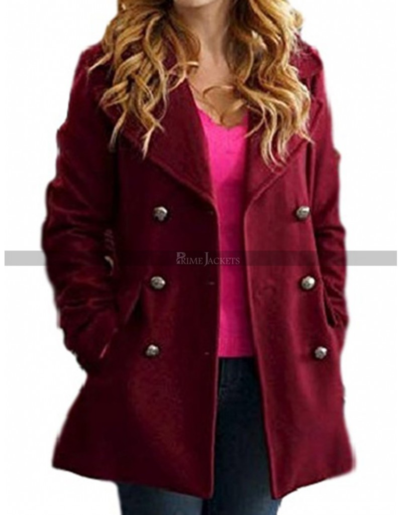 Pitch Perfect 3 Anna Kendrick Cotton Coat
