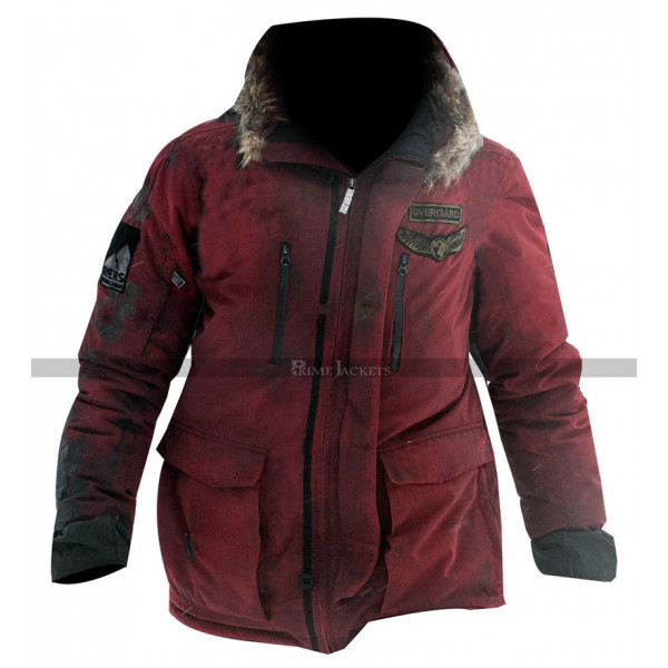 Arctic Overgard Red Parka Hooded