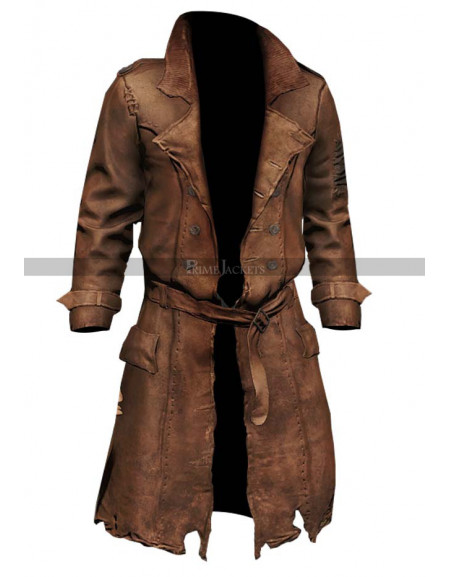 Fallout 4 Nick Valentine Brown Coat