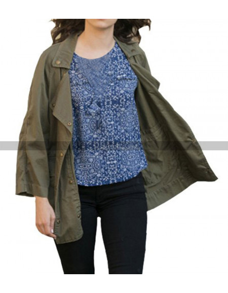 Emmanuelle Grey Rossum Shameless Trench Coat