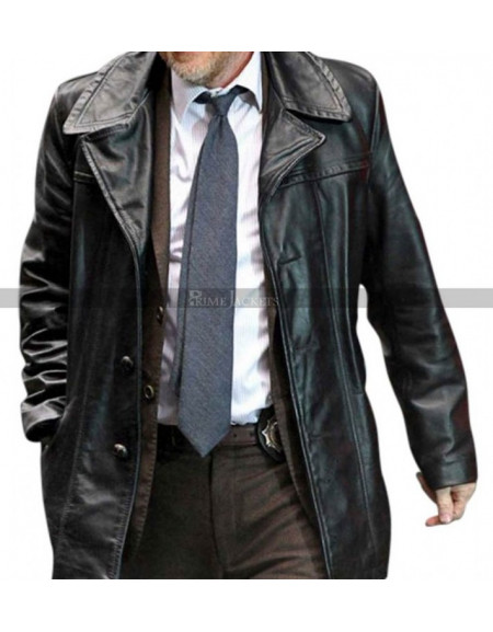 Gotham Donal Logue (Harvey Bullock) Trench Coat Jacket