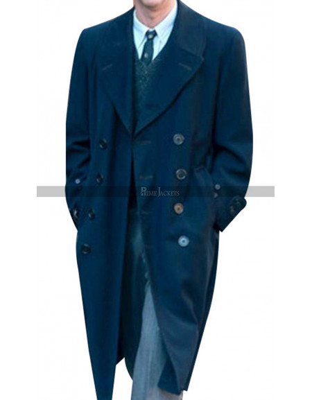 Motherless Brooklyn Edward Norton Wool Coat