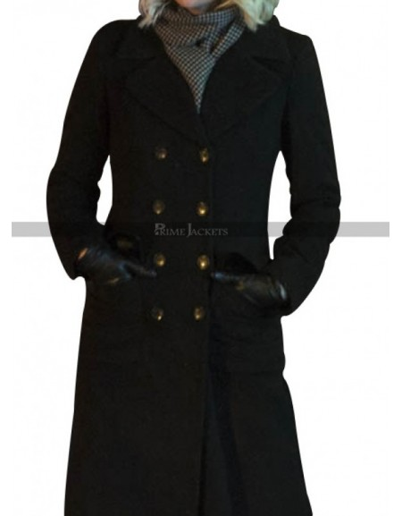 Atomic Blonde Lorraine Broughton Black Coat