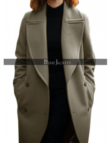 Miss Sloane Movie Jessica Chastain coat