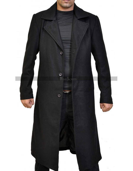 Timothy Olyphant Justified Raylan Givens Black Coat