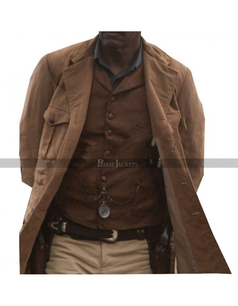 Samuel L. Jackson Legend of Tarzan Coat