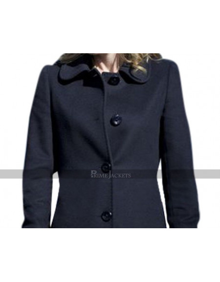 Stella Gibson The Fall Black Long Coat