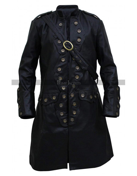 Orlando Bloom Pirates of the Caribbean 5 Black Coat