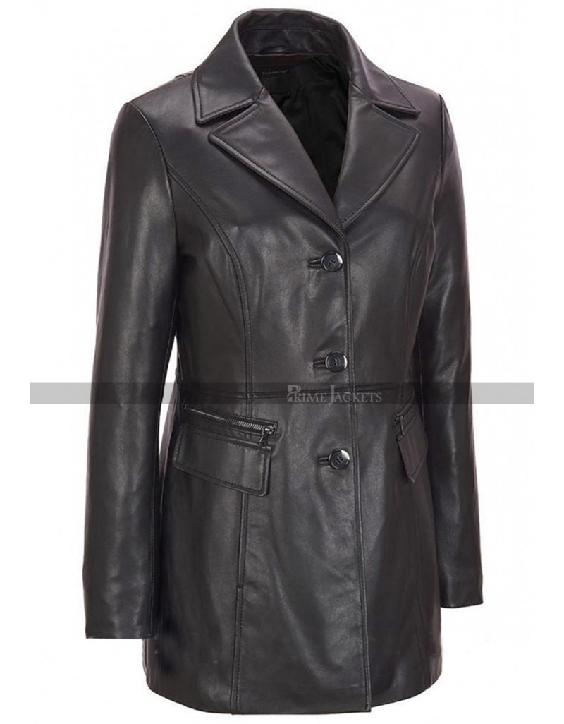 outstanding features huge inventory competitive price Women's Black Petite Trench Coat