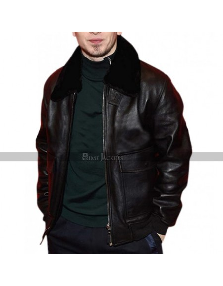 Spencer Reinhard American Animals Fur Collar Jacket
