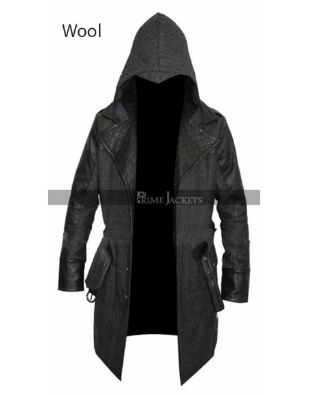 Assassin's Creed Syndicate Jacob Frye Wool Coat Costume