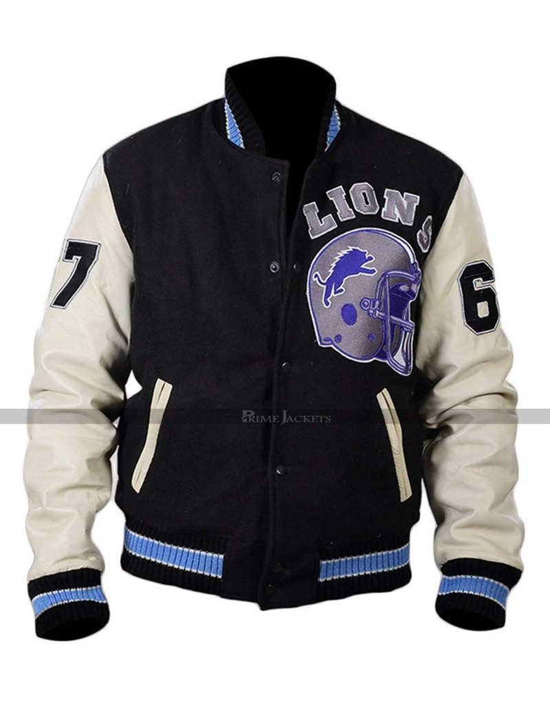 Beverly Hills Cop Eddie Murphy Jacket Axel Foley Detroit Lions Jacket