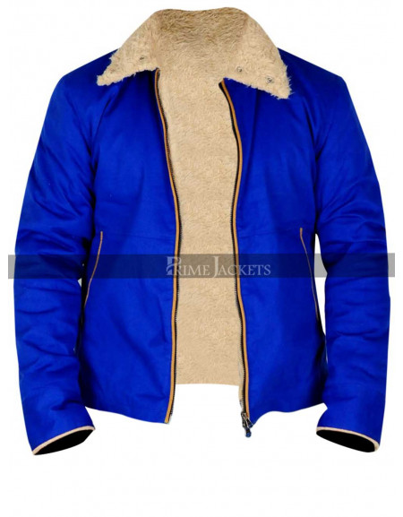 Bob Saginowski The Drop Movie Tom Hardy Blue Jacket