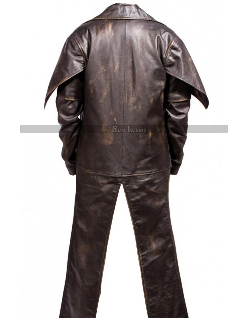 Cad Bane Star Wars Clone Wars Distressed Brown Costume