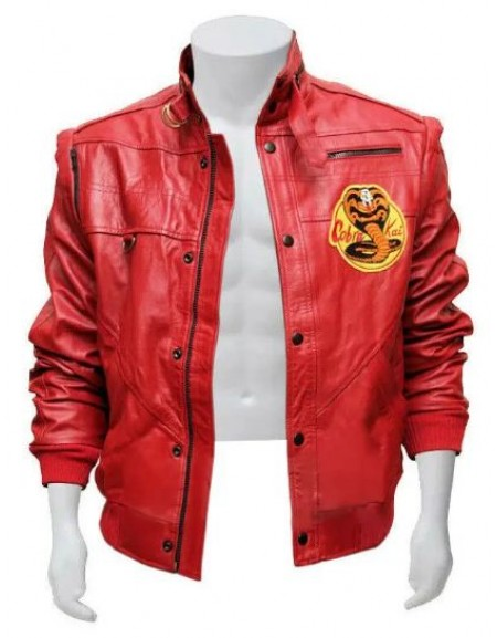 The Karate Kid Johnny Lawrence Cobra Kai Jacket
