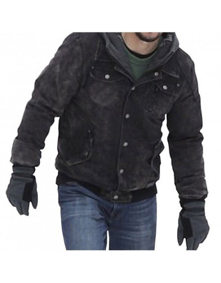 Daddys Home 2 Mark Wahlberg (Dusty) Black Jacket