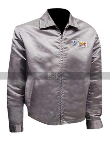 Death Proof Icy Hot Stuntman Mike Kurt Russell Silver Jacket