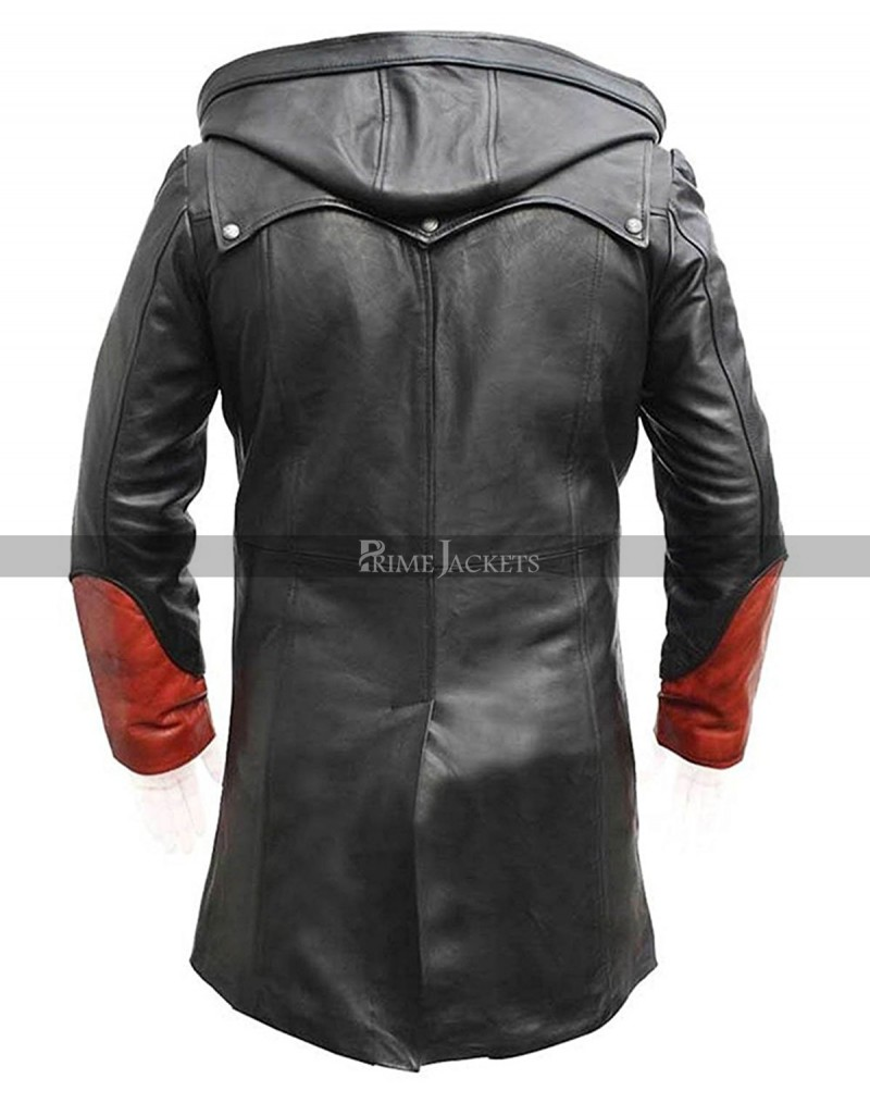 Devil May Cry Dante Tim Phillipps Trench Leather Coat Costume
