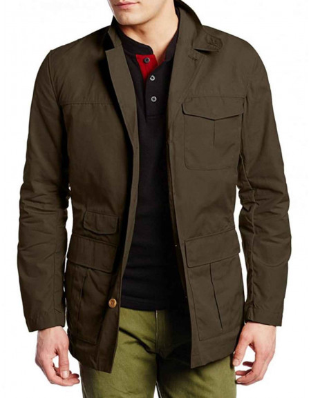 Izombie Ravi Chakrabarti Brown Jacket