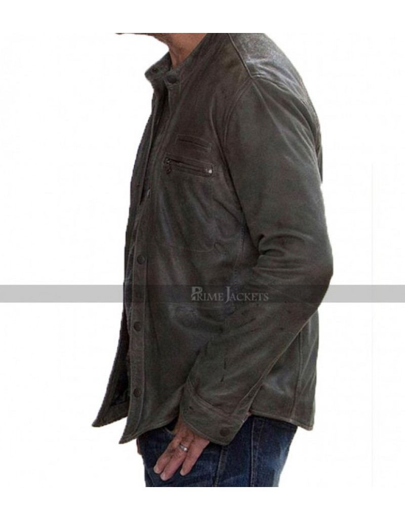 Colony TV Series Will Bowman Biker Style Jacket