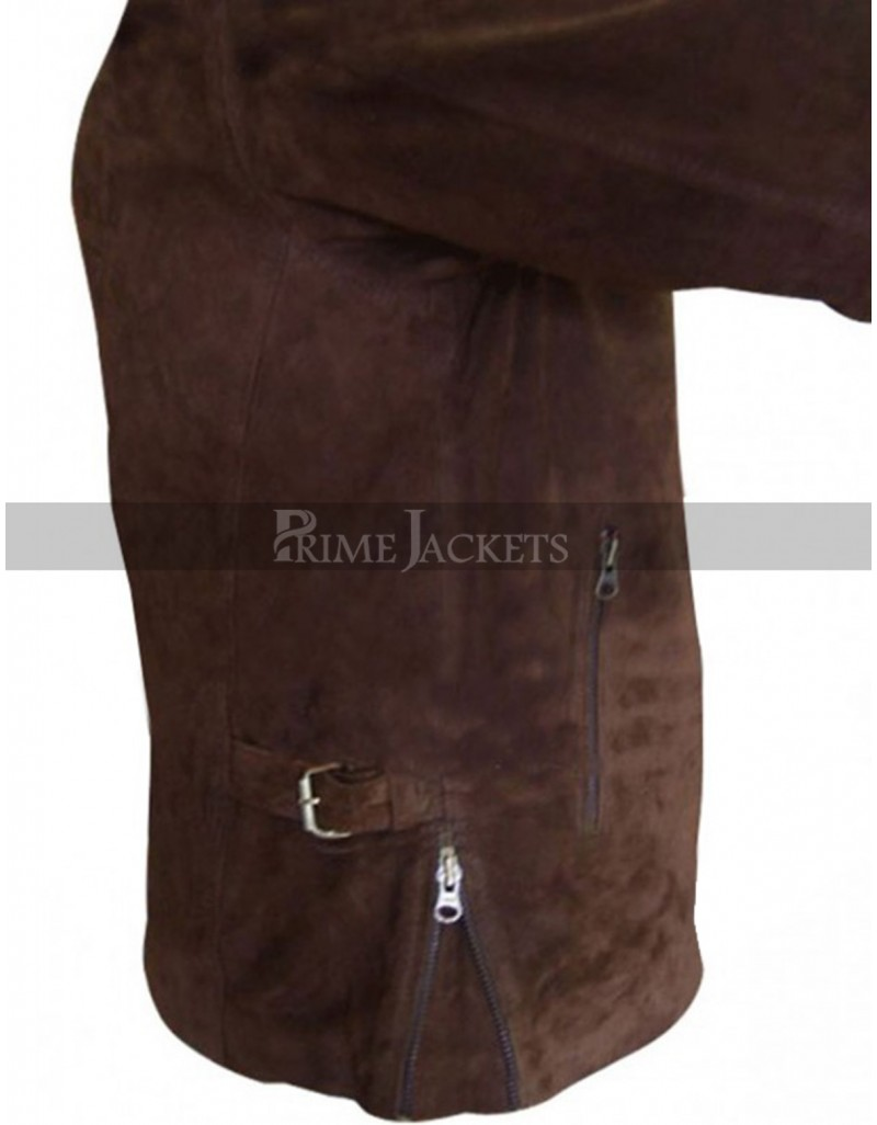 Mission Impossible 3 Tom Cruise (Ethan Hunt) Suede Leather Jacket