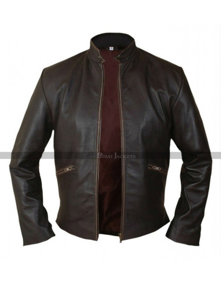 Tron Legacy Sam Flynn Leather Jacket