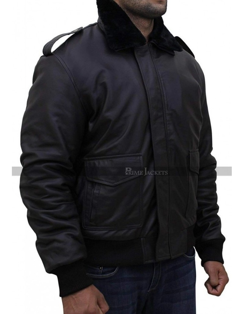 The Thing Kurt Russell Fur Collar Jacket