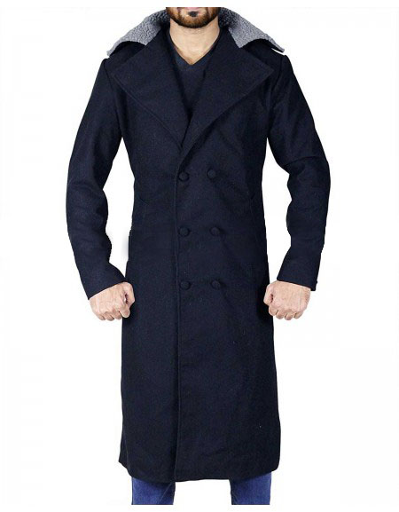 Taboo James Keziah Delaney (Tom Hardy) Trench Black Coat