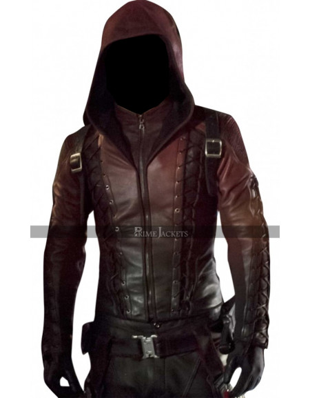 Red Arrow Colton Haynes Costume Jacket