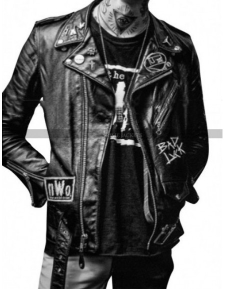 The Neighborhood Bad Luck Jesse Rutherford Black Jacket