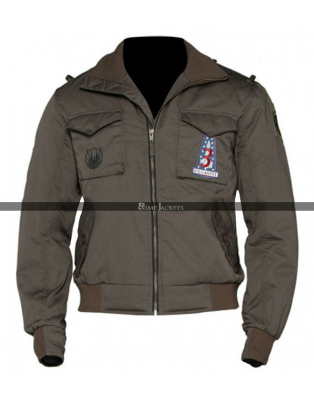 Battlestar Galactica Lee Apollo Adama Bomber Jacket