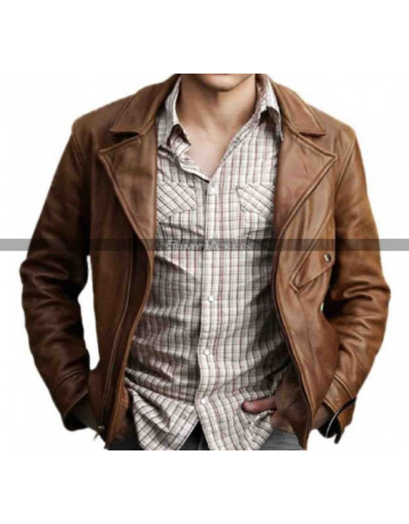 Beautiful Creatures Alden Ehrenreich (Ethan) Leather Jacket