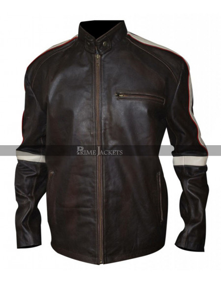 Belstaff Hero Bison Leather Jacket