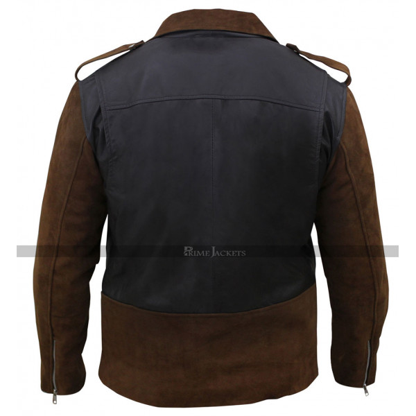 Billy Connolly's Route 66 Biker Leather Jacket