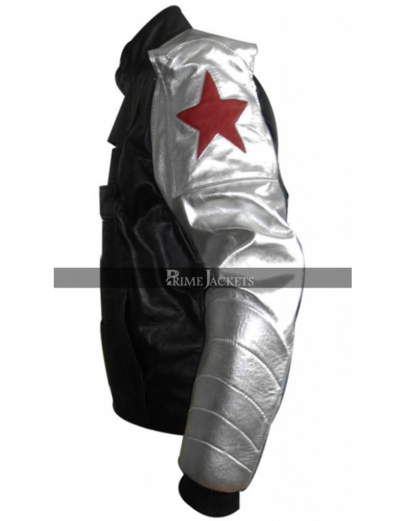 The Winter Soldier James Barnes Leather Jacket