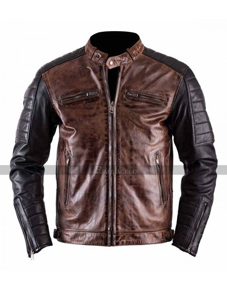 Antique Cafe Racer Brando Vintage Jacket