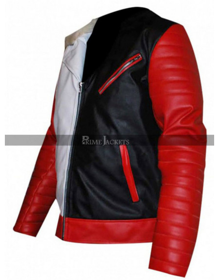 Descendants Carlos (Cameron Boyce)  Leaher Jacket Costume
