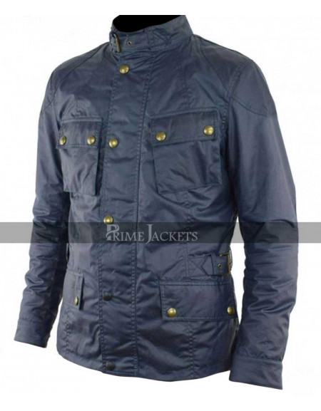 John Wick 2 Common (Cassian) Blue Jacket