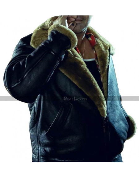 Curfew Joker jones Fur Jacket