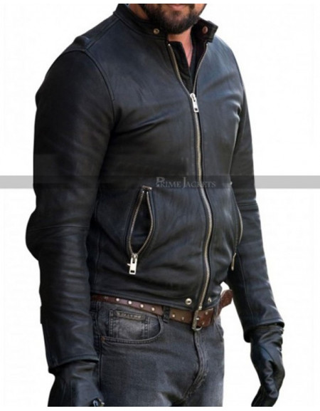 Karl Urban Bent Movie 2018 Danny Gallagher Black Jacket