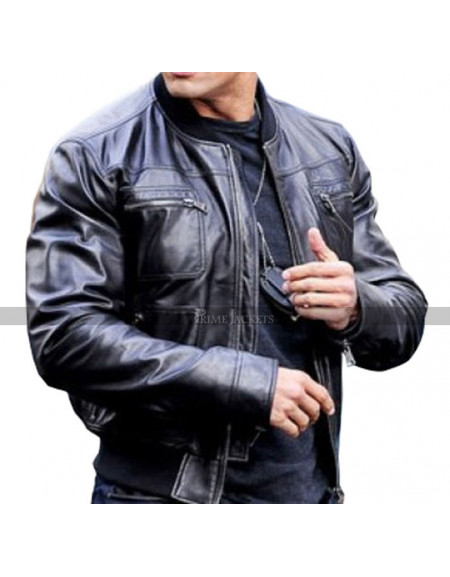 Danson The Other Guys Biker Jacket